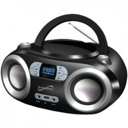 Portable Bluetooth Audio System Black