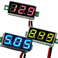 Digital LED Voltage Meter for 2.5 to 30 Volt Systems