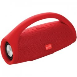 Bluetooth Portable Speaker With Built-in Handle Red