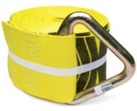 "4"" x 30' Winch Strap with Delta Ring"