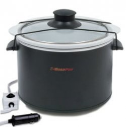 RoadPro RPSL-350 12 Volt Crock Pot Slow Cooker