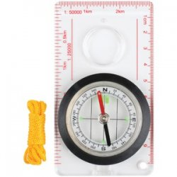 Deluxe Liquid-filled Map Compass