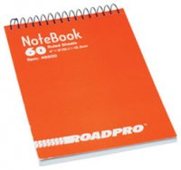 "4"" x 6"" Spiral Notebook - 60 Pages"
