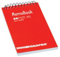 Top Spiral Memobook - 60 Pages