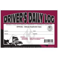 Personalized Deluxe Driver's Daily Log Book