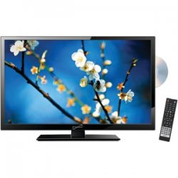 "22"" 1080p Led TV/DVD Combination AC/DC Compatible With RV/boat"