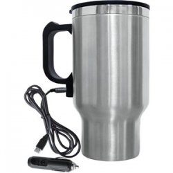 Heated Travel Mug with USB 12Volt Adapter