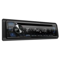 Bluetooth AM/FM CD Player with 3.5mm Aux and USB front Inputs