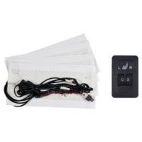 Driver & Passenger Seat Heater with Illuminated 5-Position Switch