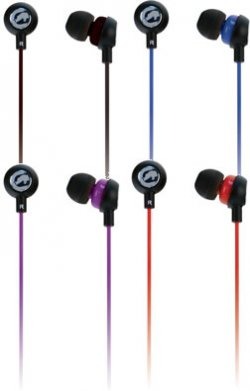 Ecko Chaos II Ear Buds with In-Line Mic