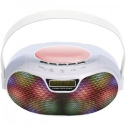 Bluetooth Portable Rechargeable Speaker White
