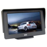 "4.3"" High Resolution TFT LCD Color Back-Up Monitor"