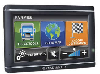 Rand Mcnally Gps >> Trucker GPS - Navigation for Truck Drivers