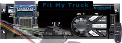 Fit my semi-truck stereo system