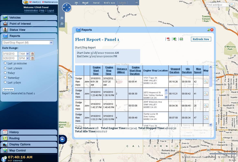 Crimestopper Tn4011 Traknet Automatic Gps Fleet Tracking