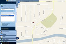 Fleet Tracking User Interface Locate Vehicle