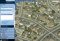 Fleet Tracking User Interface Locate Vehicle 3D Map