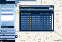 Fleet Tracking User Interface Main Screen