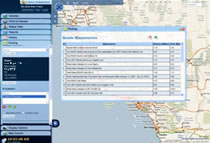 Fleet Tracking User Interface Fleet Routing w-Turn by Turn and Map