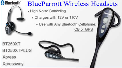 Blueparrott Noise Canceling Bluetooth Rechargeable Headsets