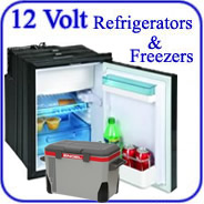 12-Volt Refrigerators for cars trucks motorhome caravan medical