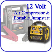 12-Volt Air Compressor - Jump-Start
