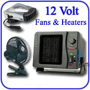 12-Volt Fans - Heaters