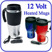 12-Volt Heated Coffee Mugs