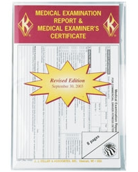 Medical Examination Report And Medical Examiners Certificate