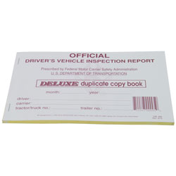 Detailed Driver\'s Vehicle Inspection Report - Carbon