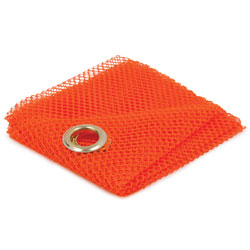 "18"" x 18\"" Mesh Flag with Grommets"