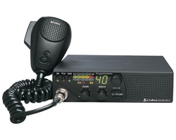 40 Channel CB Radio with Weather Channels and Soundtracker