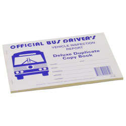 Bus Drivers Vehicle Inspection Report