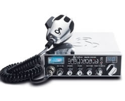 29 LTD Classic 40 Channel Mobile CB Radio with Delta Tune - Chrome