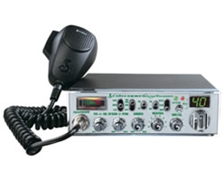 40 Channel CB Radio with Nightwatch Weather and Soundtracker