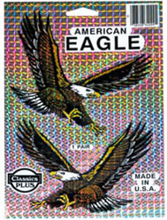 American Eagle Prismatic Decals - 2-Pack