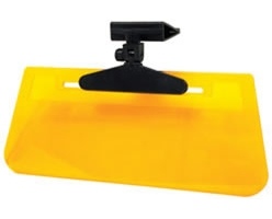 Ray Stopper Clip-On Sun Visor - Yellow