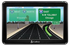 Cobra Platinum GPS for Truckers