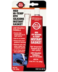 3oz. ProSeal Red Hi-Temp RTV Silicone Instant Gasket