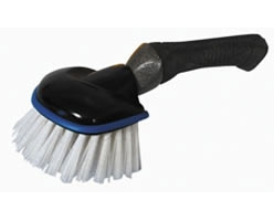 Tire and Bumper Brush with Grip Tech Handle