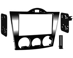 2004-2008 Mazda RX-8 2-Din Radio Installation Turbo Kit - High Gloss Black