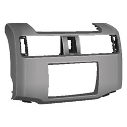 2010 Toyota 4-Runner 2-DIN Turbo Installation Kit