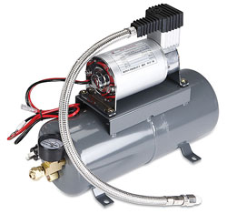 3.5 Liter Tank High Output Air Compressor with 110psi Output