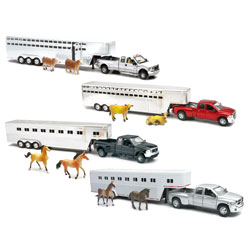 1:32 Scale Fifth Wheel Truck Assortment