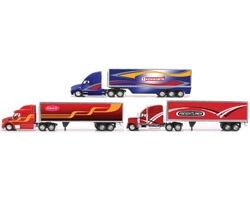 1:32 Scale Die Cast Long Hauler with New Graphics Truck Assortment