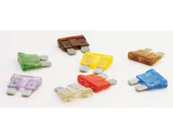 10 Amp ATO(R) Fast-Acting Automotive Blade Fuse - 5 Pack, Card