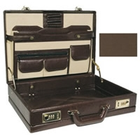 The Executive Leather-Like Expandable Briefcase