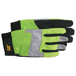 GLOVE HIGH VIS PADDED PALM UTILITY