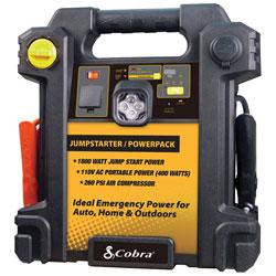 Cobra Portable Power Supply & Air Compressor