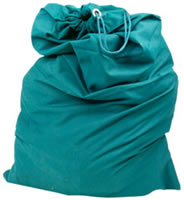 "Cloth Laundry Bag - 22"" x 32\"""